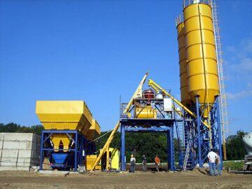 китайский бетон завод