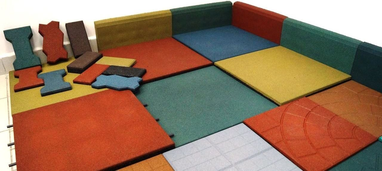Rubber Tile Equipment, Crumb Rubber, Rubber Tile Production, Flooring Tiles, Plant for the Production of Rubber Tiles, rubber Products,Tiles for Outdoor Playground